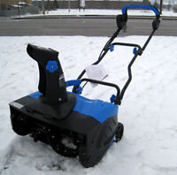 How to choose a snow blower / snow thrower