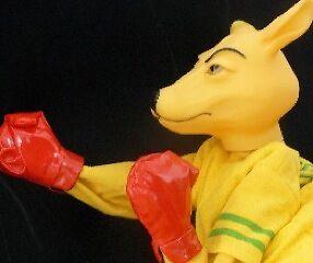THAT Boxing Kangaroo Puppet