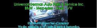 Universal German Auto Parts Inc