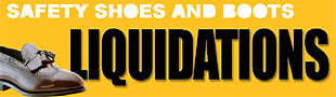 Safety Shoes and Boots Liquidations