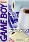 Nintendo Printer Paper for Game Boy