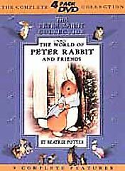 The World of Peter Rabbit and Friends (DVD, 2001, 4-Disc Set)