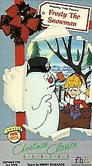 VHS-Frosty-the-Snowman-VHS-Jackie-Vernon-Billy-De-Wolfe-J-Arthur-Rankin-Jr