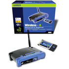 Linksys WKPC54G 54 Mbps 4-Port 10/100 Wireless G Router