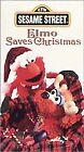 Sesame Street - Elmo Saves Christmas (VHS, 1996)