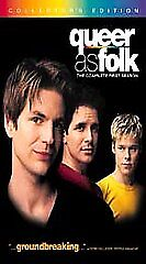 Queer as Folk - The Complete First Season (VHS, 2002, 5-Tape Set, Gift Box;...