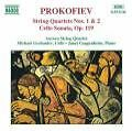 Streichquartett 1+2/Celloson. von Guggenheim,Grebanier (1995)