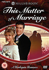 Mills And Boon - This Matter Of Marriage (DVD, 2010)