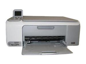 hp deskjet f4180 all in one inkjet printer scanner copier. Black Bedroom Furniture Sets. Home Design Ideas