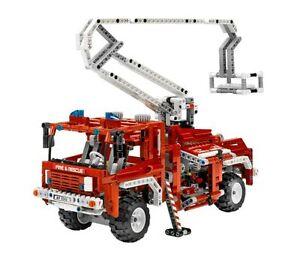 LEGO Technic 8289 Roter Feuerwehr Truck Fahrzeug Feuerwehrauto  NEU OVP