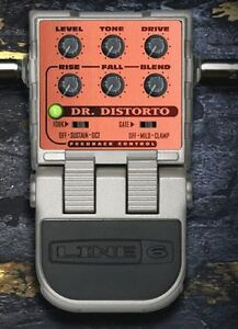 LINE-6-Dr-Distorto-Distortion-Guitar-Effect-Pedal-EFFECT-NEW-WW-SHIPPING