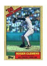 Topps Roger Clemens Boston Red Sox Single Baseball Cards