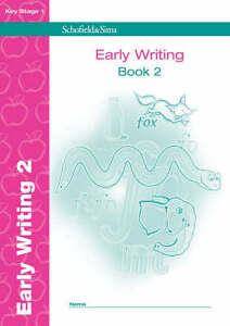 Early Writing Book 2 (of 4): KS1, Years 1 & 2, Anne Forster, Paul Martin, New Bo