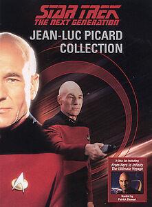 Star-Trek-The-Next-Generation-Jean-Luc-Picard-Collection-DVD-2004-2-Disc-Set-DVD-2004
