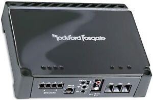 refurbished rockford fosgate p300 1 mono subwoofer amplifier car amp rh ebay com P300- 12 rockford fosgate punch p300-1 wiring diagram