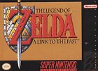 The Legend of Zelda E-Everyone Nintendo SNES Video Games
