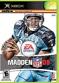 Madden NFL 08 (Microsoft Xbox, 2007)