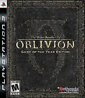 The Elder Scrolls IV: Oblivion (Game of the Year Edition)  (Sony Playstation 3, 2007) (2007)
