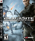 BlackSite: Area 51  (Sony Playstation 3, 2007) (2007)