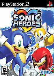 Sonic Heroes PS2 Playstation 2 Game Complete