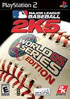 Major League Baseball 2K5: World Series Edition (Sony PlayStation 2, 2005)
