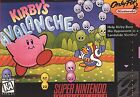 Nintendo Kirby's Avalanche Video Games