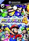 Mario Party 4 Nintendo GameCube Video Games with Manual