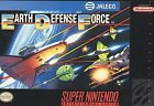 Super Earth Defense Force (Super Nintendo Entertainment System, 1992)