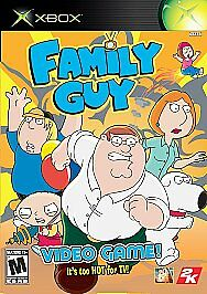 Family-Guy-Video-Game-XBOX-NEW-SEALED-Original