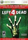 Action/Adventure Microsoft Xbox 360 Left 4 Dead Video Games