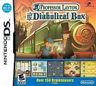 Nintendo Professor Layton and the Diabolical Box Video Games