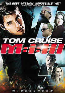Mission Impossible III DVD, 2006, Single Disc Widescreen  - $1.00