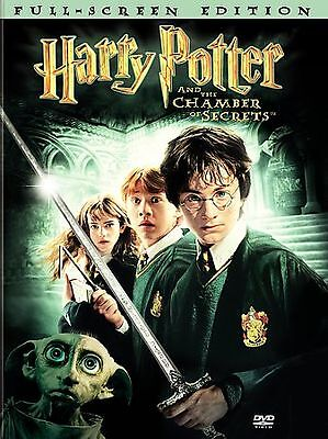 Harry Potter and the Chamber of Secrets ~ DVD ~ Full Screen ~ 2002 ~ 2-Disc