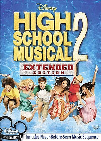 High School Musical 2 (DVD, 2007, Extended Edition) VERY GOOD