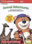 Baby-Genius-Animal-Adventures-DVD-w-Bonus-Music-CD-New-DVD-Artist-Not-Provided