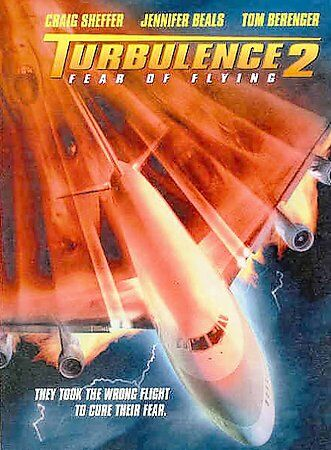 Turbulence II: Fear of Flying   DVD    LIKE NEW 1