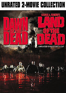 Dawn-of-the-Dead-Land-of-the-Dead-George-Romero-DVD-NEW
