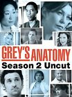 Greys Anatomy - Season 2: Uncut (DVD, 2006, 6-Disc Set)