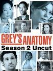 Greys Anatomy - Season 2: Uncut (DVD, 2006, 6-Disc Set)