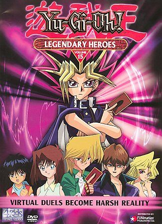 Yu-Gi-Oh - Vol. 15: Legendary Heroes (DVD, 2003)