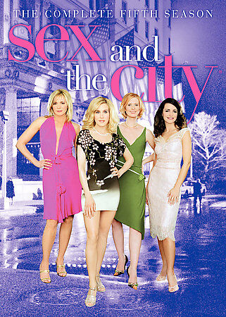 Sex and the City - The Complete Fifth Season (DVD,  2-Disc Set) FREE SHIPPING
