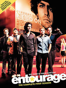 ENTOURAGE-Complete-First-Season-1-1st-DVD-2005-2-Disc-Set-BRAND-NEW-SEALED