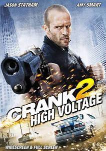 Crank 2 High Voltage 2009 And Crank Widescreen 2006 DVD s - $5.00