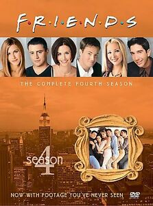 Sealed Friends  Complete Fourth 4th Season ~ 4-Disc DVD Box Set ~ FREE Shipping