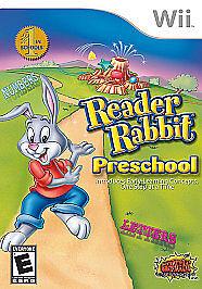 Reader Rabbit Preschool (Nintendo Wii, 2011)