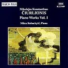 Ciurlionis: Piano Works Vol 1 / Mûza Rubackyté by Mûza Rubackyté (CD, Jun-1994, Marco Polo)