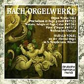 Bach: Orgelwerke Vol 1 Harald Vogel By Harald Vogel (Cd, May-1992, Dhm...