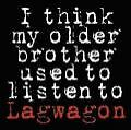 I Think My Older Brother Used To Listen.(EP) von Lagwagon (2008)