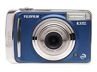 fujifilm finepix a series a805 8 3mp digital camera blue ebay rh ebay com Fujifilm FinePix Camera Manual Fujifilm FinePix A-Series