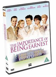 The Importance Of Being Earnest DVD 2003 - Basildon, United Kingdom - The Importance Of Being Earnest DVD 2003 - Basildon, United Kingdom